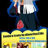 Deidara Icons by xXmariisa23Xx