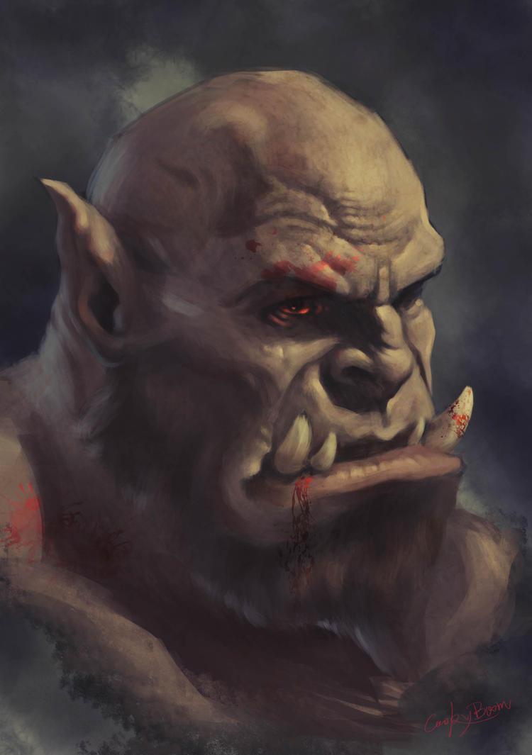 Ogrim Doomhammer by CookyBoom