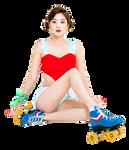 Rock ChaeEun Render by depuissledebut
