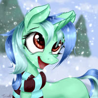 Eclipse's First Winter (Commission) by AurelleahFreefeather