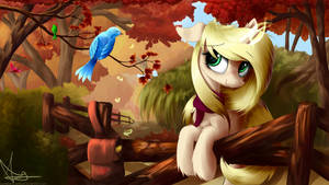 Autumn: Sweets Sunrise, Birdseed Slinger by AurelleahFreefeather