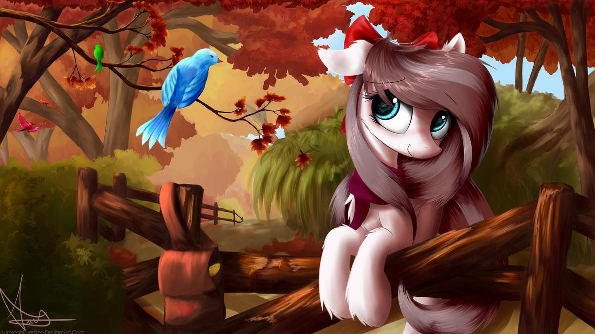 Autumn: Aurelia Freefeather, Hobbyist Birdwatcher by AurelleahFreefeather