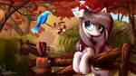 Autumn: Aurelia Freefeather, Hobbyist Birdwatcher