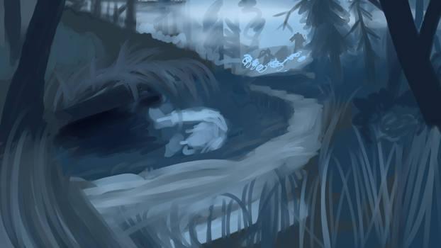 Sketch WIP: Exile