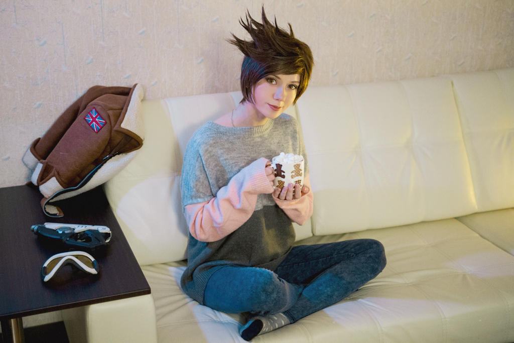 Home Tracer - Overwatch by Hoteshi