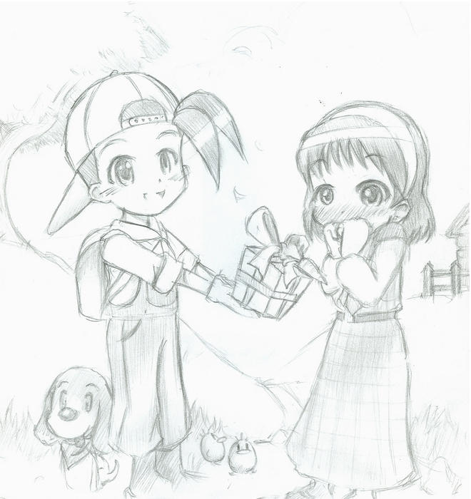gamecube harvest moon coloring pages - photo #10