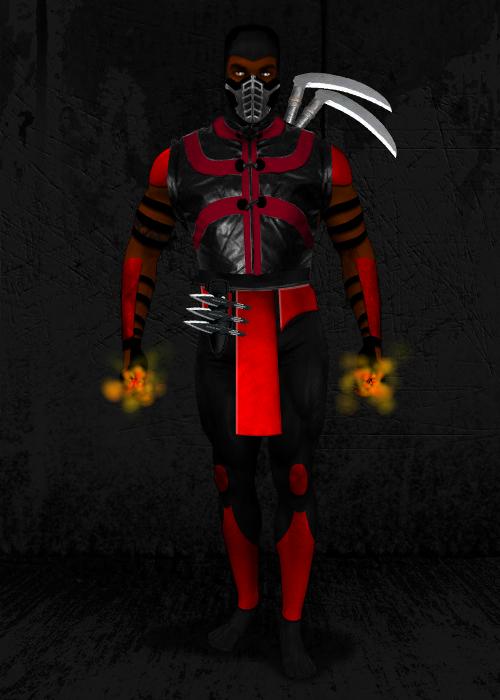 MORTAL KOMBAT OC FINAL for Scorpion-MKX by diru915 on
