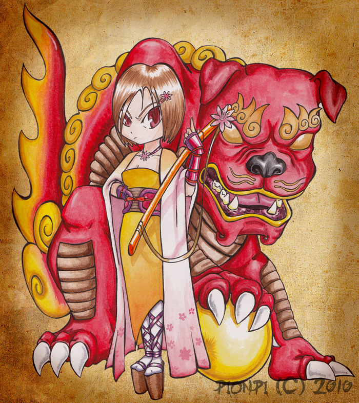 Shisa Girl by pionpi