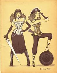 pirates by foxxly