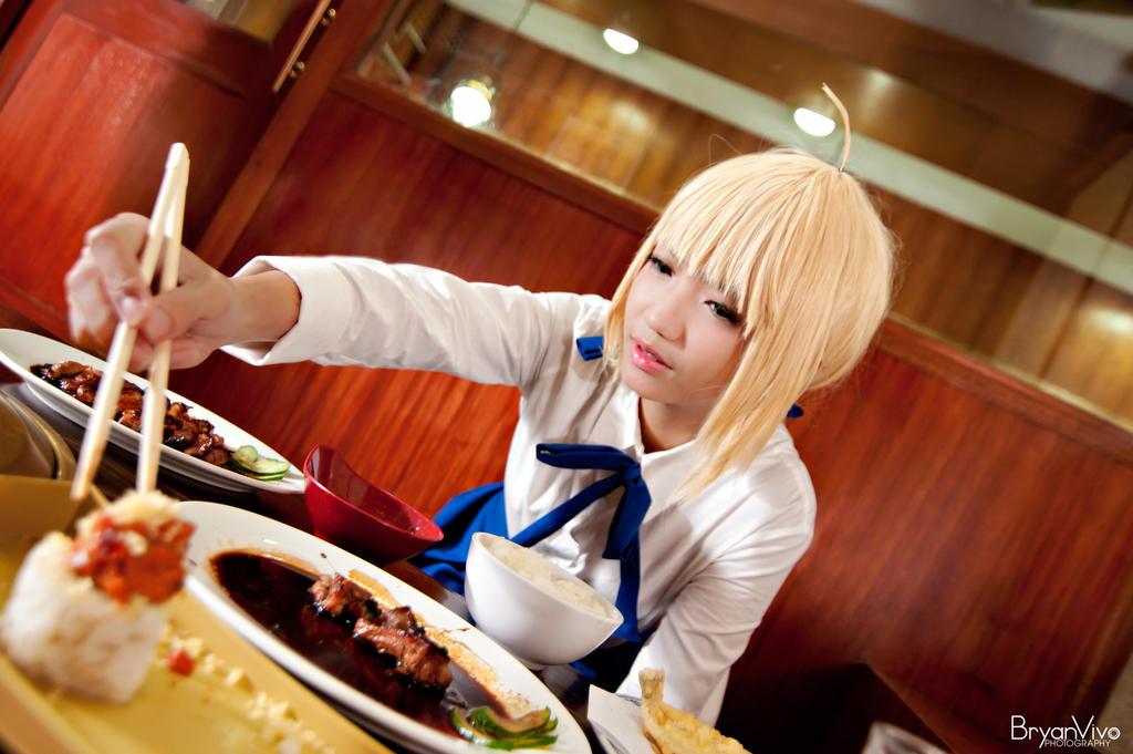 King's Appetite (Saber) by katsu-05
