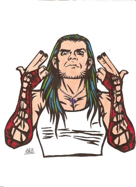 Jeff Hardy By Swedtruth On Deviantart Jeff Hardy Color Drawing