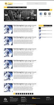 FasaSpace.com Web Design - Wordpress theme