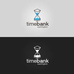 Timebank Warrington  - Logotype (Hourglass v1)