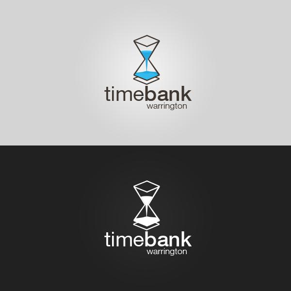 Timebank Warrington  - Logotype (Hourglass v1) by patrickzachar