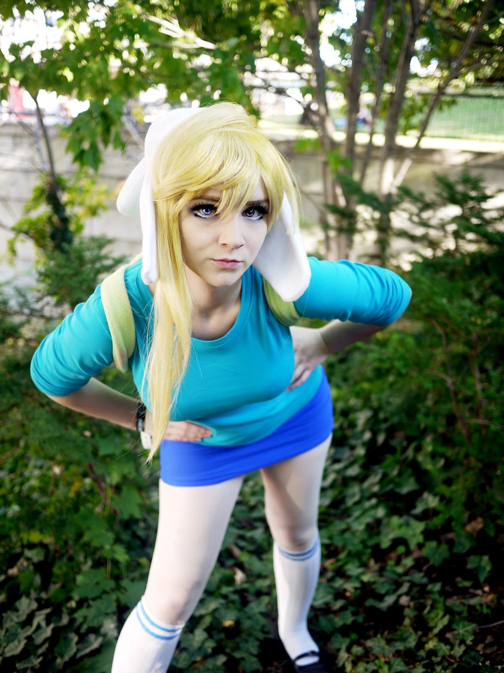 time cosplay adventure Fiona