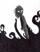 Shadow Girl by chibi-bakeneko