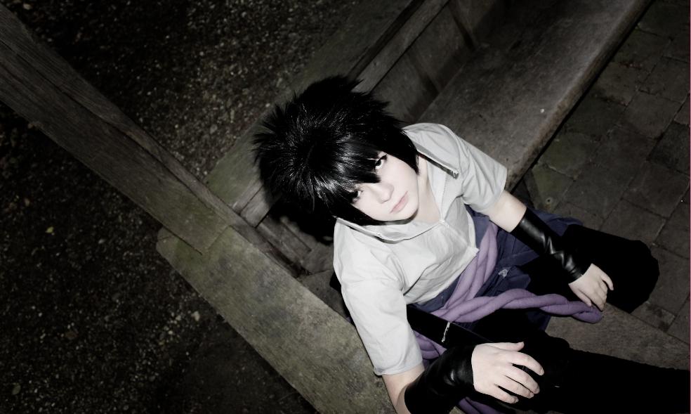 Sasuke Uchiha - Look at my eyes - Taka Cosplay by CalypsoUchiha
