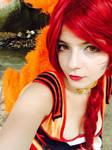 Foxfire Ahri [League of Legends] - Cosplay
