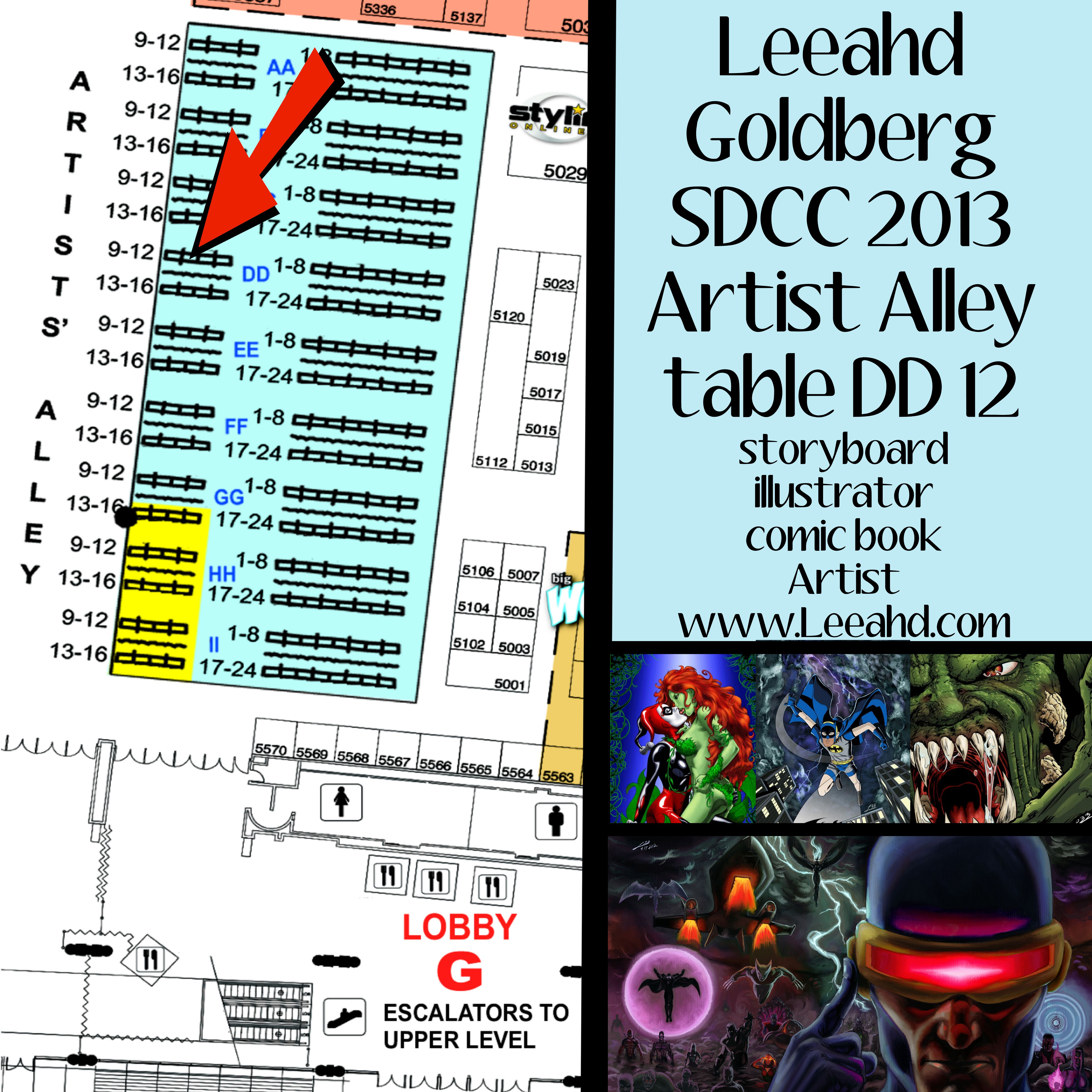 LeeahdComicCon2013 by Leeahd