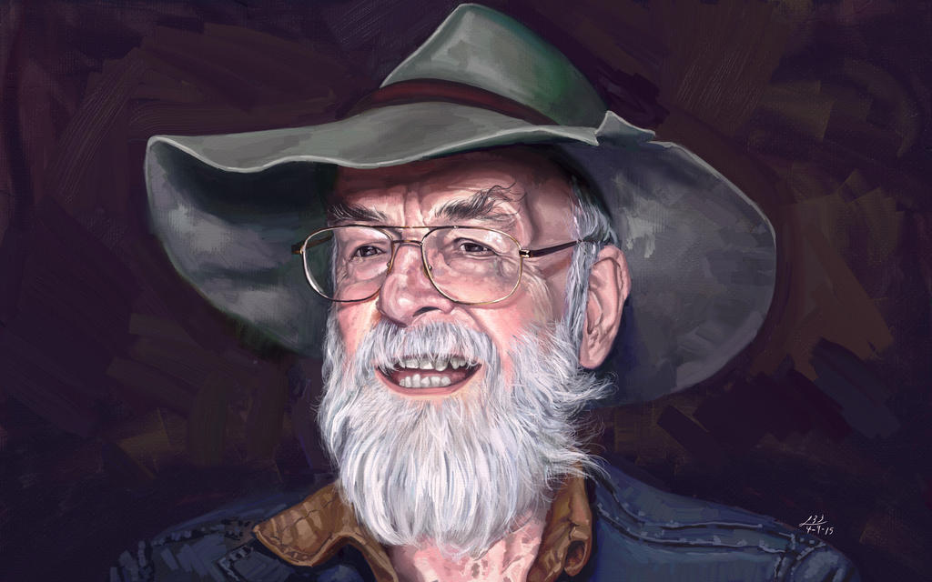 Terry Pratchett Tribute by Leeahd