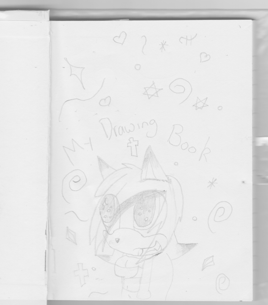 Drawing Book Front Cover : My drawing book front cover by lyrathewolf on deviantart