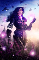 Yennefer of Vengerberg by Geirahod