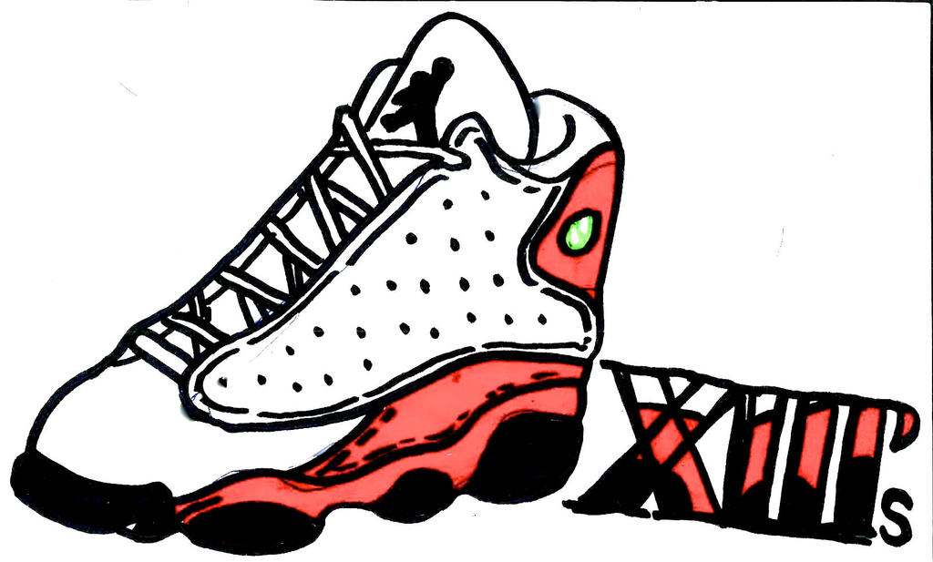Air jordan 13 by bi9mik3 on deviantart for Chambre a air 13 5 00 6