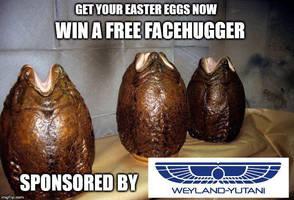 Happy Easter from Weyland-Yutani by DotorDweeb