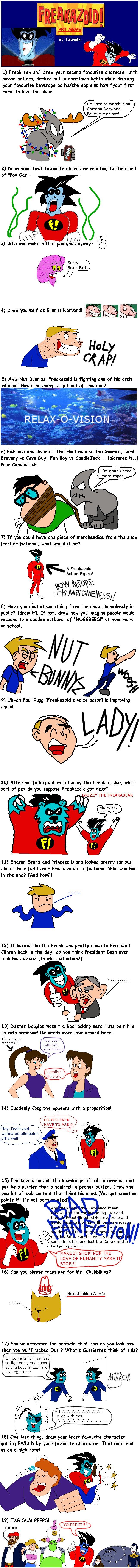 Freakazoid meme: Code-E by Code-E on DeviantArt