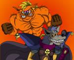 Dingo and Sleet by Code-E