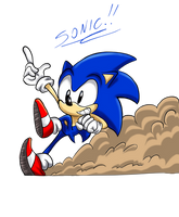 March of the Mascots: Sonic the Hedgehog by Code-E