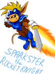 March of the Mascots: Sparkster the Rocket Knight