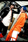 Air Gear: Ikki and Akito by ManaFromHeaven