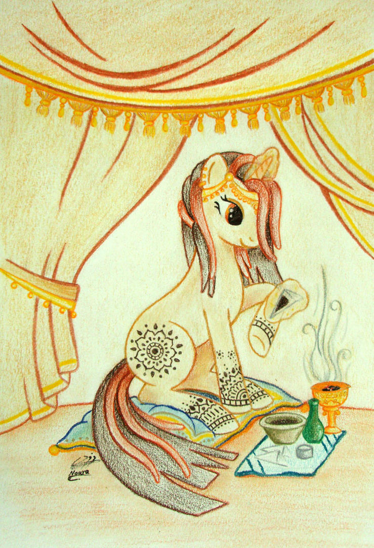 MLP: Cutie Henna 2 color by Al-Abbasi