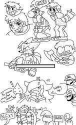 :: Random Doodles :: by XxUnknownJoexX