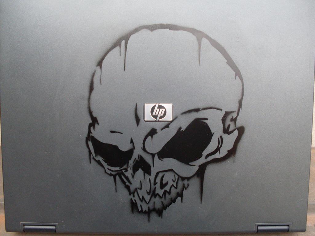 Graffiti Stencils Skull graffiti stencil by go...