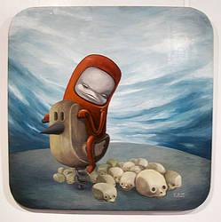 The Unhappy Chicken-joy Ride by samowel