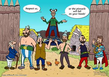 AEW - The Gauls Pinnacle