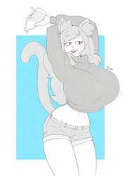 CM - Nekogirl by Ruff-Sketches
