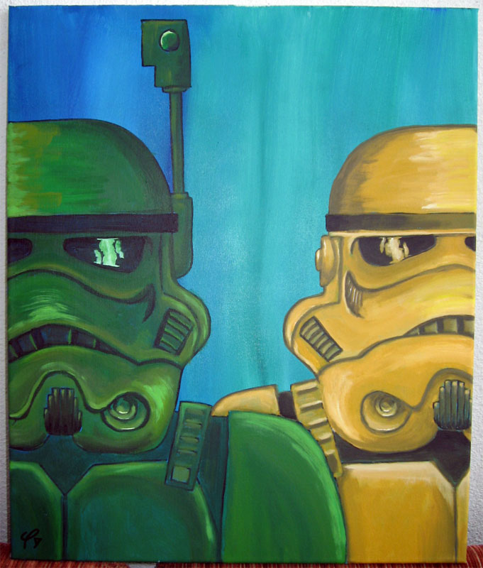 Trooper and another by janimutikainen