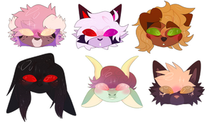 chibi heads [ych commission]