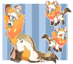 African Wild Dog Adopt !AUCTION! [Closed]