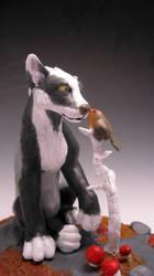 Badger the Wolf by eggyyockio