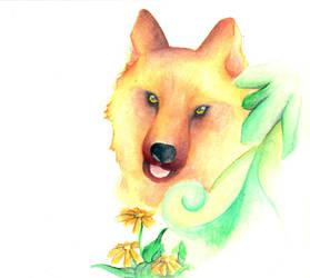 Wolf 2 by jOy--jOy