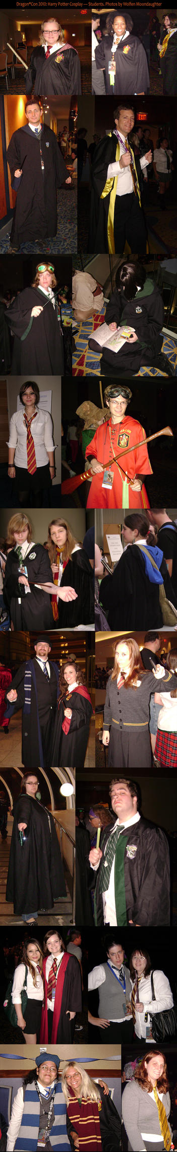 DragonCon 2010 HP Students by CanisCamera