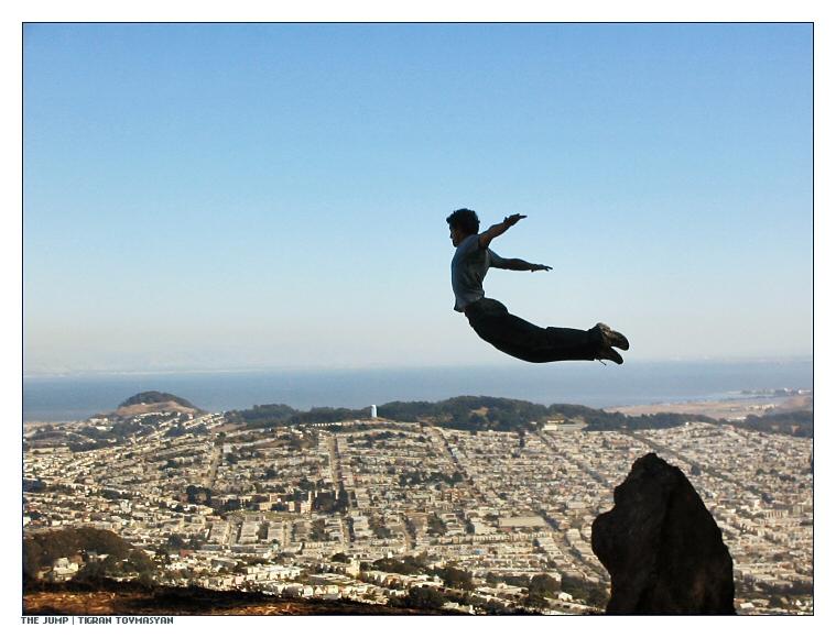 I believe I can fly...haha