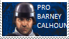 Barney Calhoun Stamp by waqwarrior