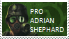 Adrian Shephard Stamp by waqwarrior