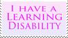 Learning Disabilities by Randamu-Chan