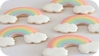 Rainbow Pastel Cookies
